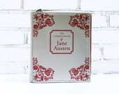 Book Purse Jane Austen Felt Book Bag