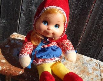 Vintage Mattel Little Red Riding Hood Doll