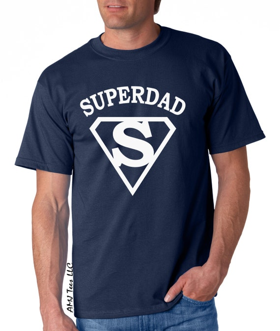 Dad tshirt, Super dad shirt, father gift, dad gifts, superhero shirt, daddy shirt, new daddy gift, gifts for dad, fathers day gift