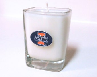 Illinois Candle - Soy Shot Glass Candle - CHOICE OF SCENT