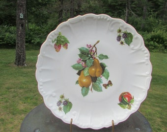 Fruit West Germany Plate Decorative