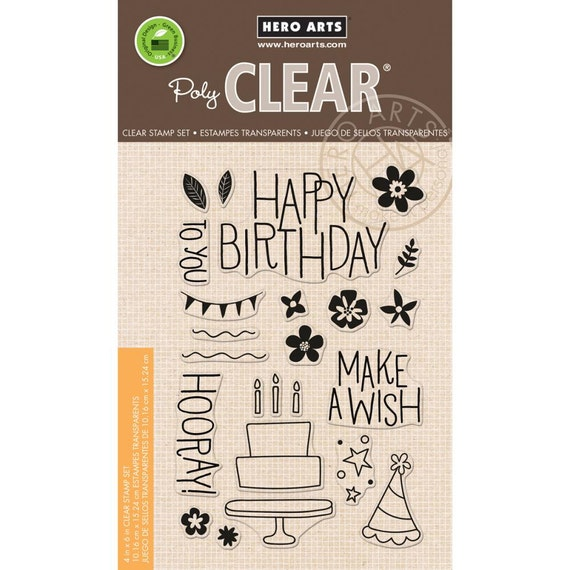 Hero Arts Make A Wish Birthday Clear Stmp CL941