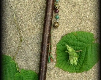 Hazel Wand: The Wishing Rod -  Witchcraft, Occult, Magic, Wicca