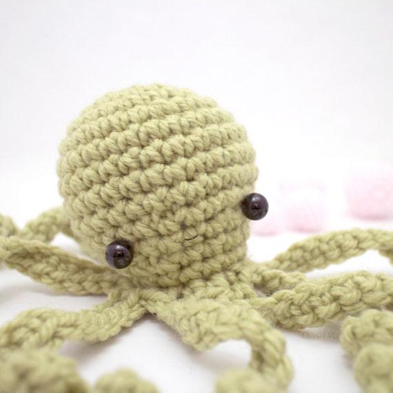 giant octopus plush crochet amigurumi animal by mohustore ...