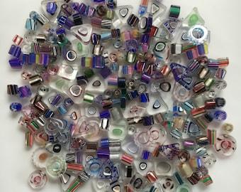 Bead Destash, Lot Purchase,  Multi-shapes, Cane, Furnace, Blown, Glass, Bead Mix
