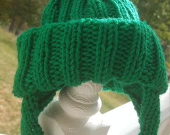 Benjamin Bunny Knit Hat ~ Peter Rabbit ~ Infants, Toddler, and Children's Sizes ~ MADE TO ORDER