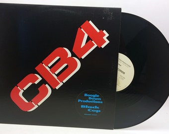 "Boogie Down Productions: Black Cop Vinyl 12"" Single Rap Vinyl Record Vintage"