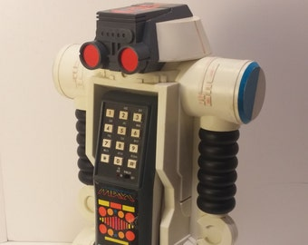 1984 ROBO FORCE Max Steele Telephone