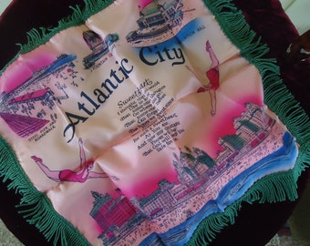 Souvenir  Pillow from Atlantic City