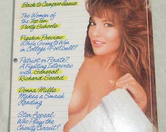 October 1987 PLAYBOY Magazine - Back to Campus Issue