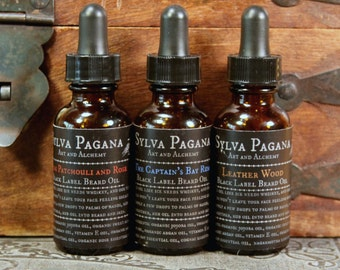 Natural beard oil - Premium Label - organic essential oil blends - mens grooming hair care - YOU CHOOSE SCENT
