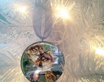 Wolf #1 Christmas Tree Ornament