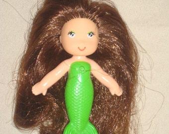 Vintage Sea Wees Green Mermaid Doll Shelly Sea Wee