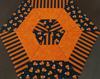 Halloween Candle/Snack Mat - FREE SHIPPING