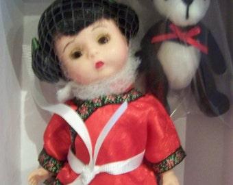 "China and Panda Madame Alexander doll set MIB from ""my china collection"""
