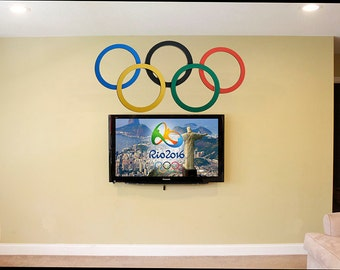 Olympic Rings wall decoration