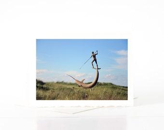 Menemsha Swordfish Harpooner, Martha's Vineyard Photography, Art Prints, Photographs, Blank Photo Greeting Cards, Note Cards, Card Sets