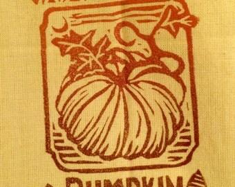Dijon Pumpkin Tea Towel