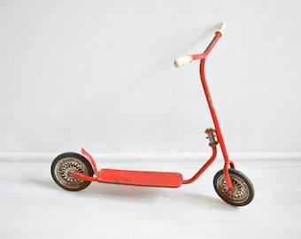 Vintage Roller, Tretroller, Vintage Spielzeug, 70er Roller, 70er Tretroller, Kickscooter, Scooter