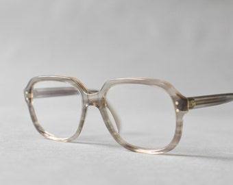 Vintage eyeglasses, nerd glasses, 60s eyewear, gray frames lucite 60s, nerd eyeglasses