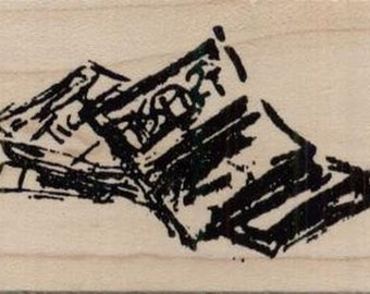 "Passport Rubber Stamp--2.5' x 1.75""--Passport Rubber Stamp--Art Impressions"