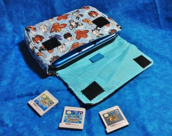 Birds of Prey 3DS / 3DS XL / New 3DS Carrying Case - MADE to ORDER