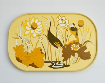 Vintage 1970's Retro Tray from Marks and Spencer
