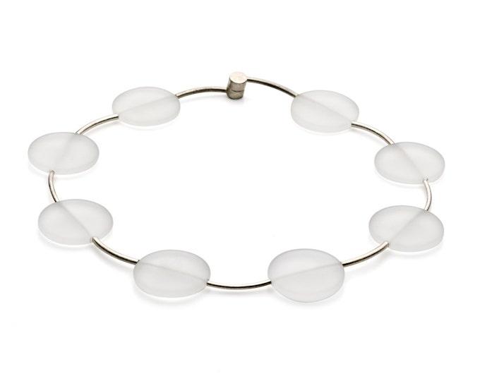 Necklace, sterlingsilve, Rock Crystal.