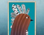 bird II, A3 size