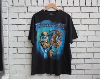 Vintage MEGADETH Countdown To Extinction Shirt 1994 Live concert promo heavy metal dave mustaine