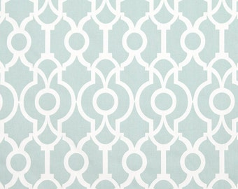 3 yards Ecru Backdrop Snowy Blue White - Home Decor  - Premier Prints  - fabric by the yard