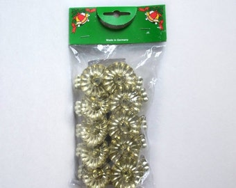 Christmas Tree Metal Candle Holders Clip Ons Set of 10 Vintage Germany As New in Package