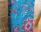 Ocean Bloom, Bahai prayer book cover, Chinese silk book cover, Bahai gift