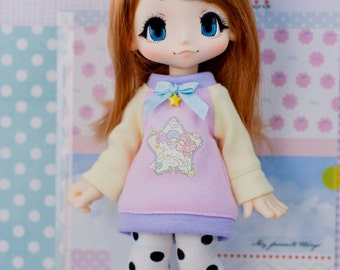 Azone Kikipop Sweater Tunic - Kinoko Juice - Twin Stars