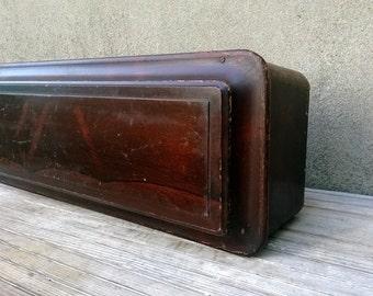 Antique Civil War Victorian Era Child Coffin New