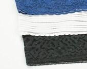 Spandex Biker Shorts Set of 3 Basic Colors Lace Trim Modesty Pants BUNDLE SALE