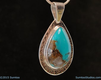 Turquoise in Argentium Sterling Silver