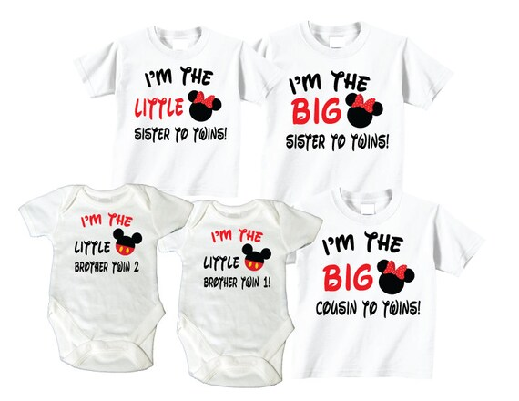 Big Sister To Twins Big Cousin To Twins Little By TheCuteTee
