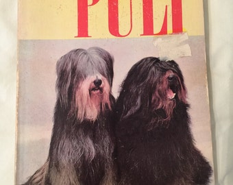 How to Raise and Train a PULI dog paperback BOOK for sale; Hungarian dog, 1964 by Estate ReSale & ReDesign