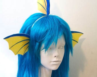 Vaporeon Fins Headband / Pokemon Cosplay Costume / Gijinka