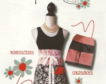 Chef's Delight Reversible Apron Pattern by Trisha Jane Aprons (TJP-2464)