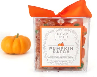 Pumpkin Patch Candy Box - Sugar Cubed - Fall Candy - Fall Gift - Fall Hostess Gift - Thanksgiving Gift - Pumpkin Candy