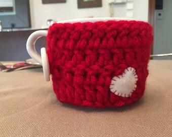 Crochet Mug cosy- Holiday gift