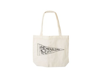 Emerald City Tote - Wizard of Oz - Screen Printed on Canvas - Made in USA