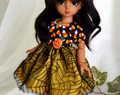 Candy Corn Dress Set For YoSD