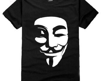 Guy Fawkes Mask Tee