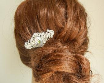 Crystal Headpiece, Crystal Hair Comb, Bridal Headpiece, Diamante Hair Comb, Bridal Hairpiece.