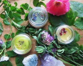SALE salves 1 oz / pick your poison: healing, holistic, heavenly