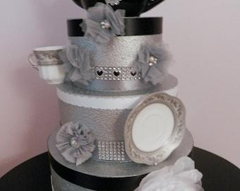 Bridal Shower Tea Party Centerpiece