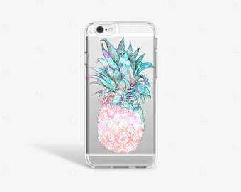 Pineapple iPhone 7 Case iPhone SE Case Summer Outdoors Accessory Pineapple iPhone 7 Plus Case iPhone 6 Case Pineapple Samsung Galaxy S8 Case